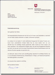 Staatssekretär im Niedersächischen Ministerium
